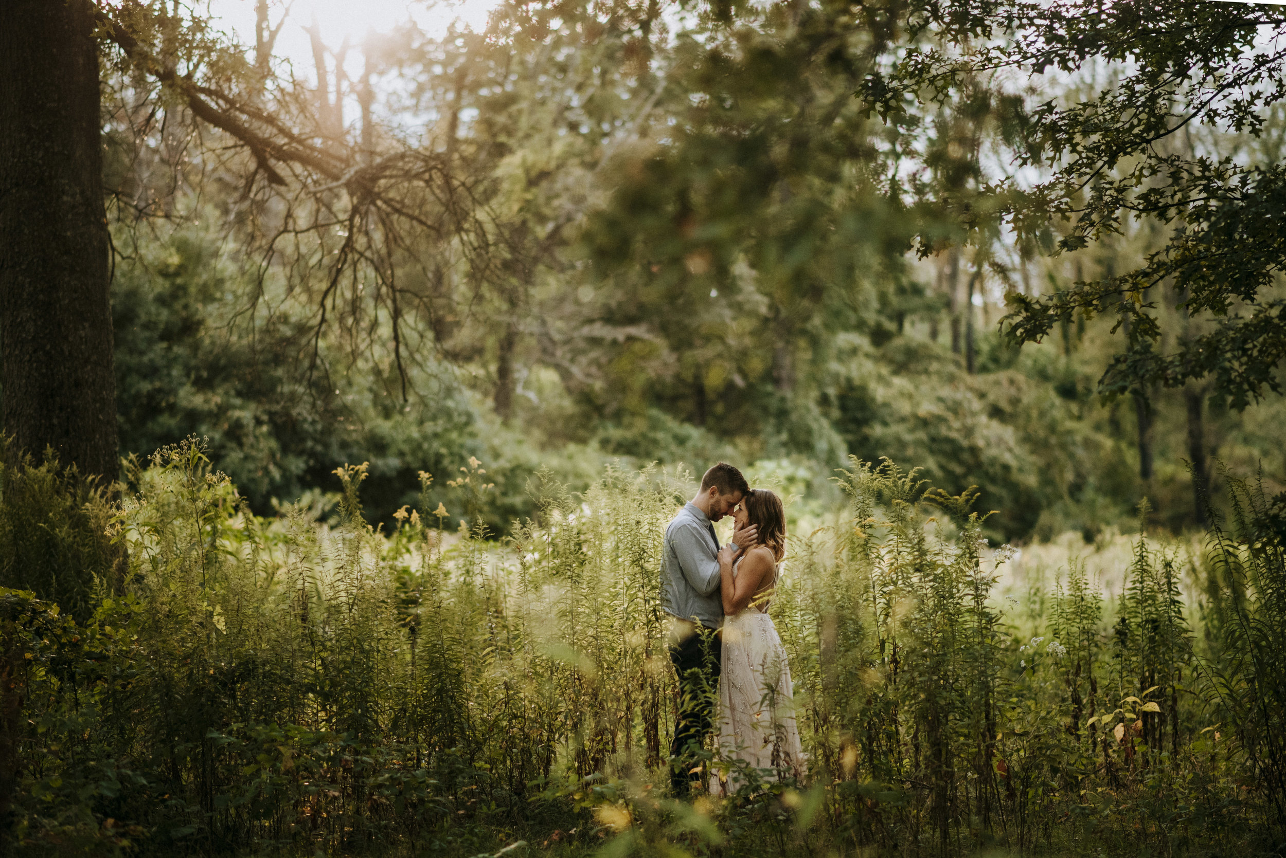 Elopement in Nature in Pittsburgh