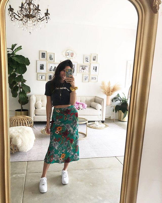 Metallica + Isabel Skirt kinda day @shopendlesssummer