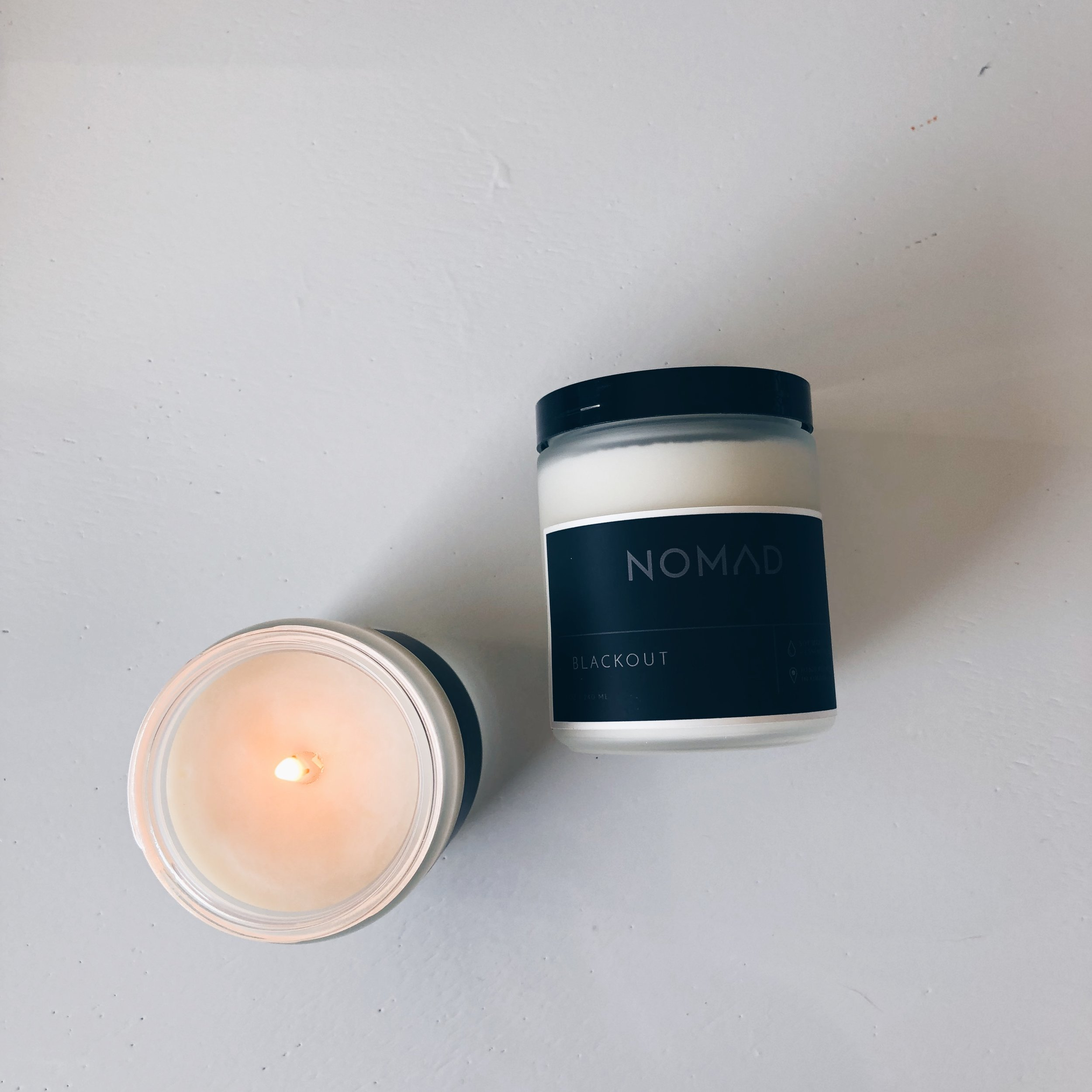 ESSENTIALS COLLECTION 8 OZ FROSTED JAR CANDLES