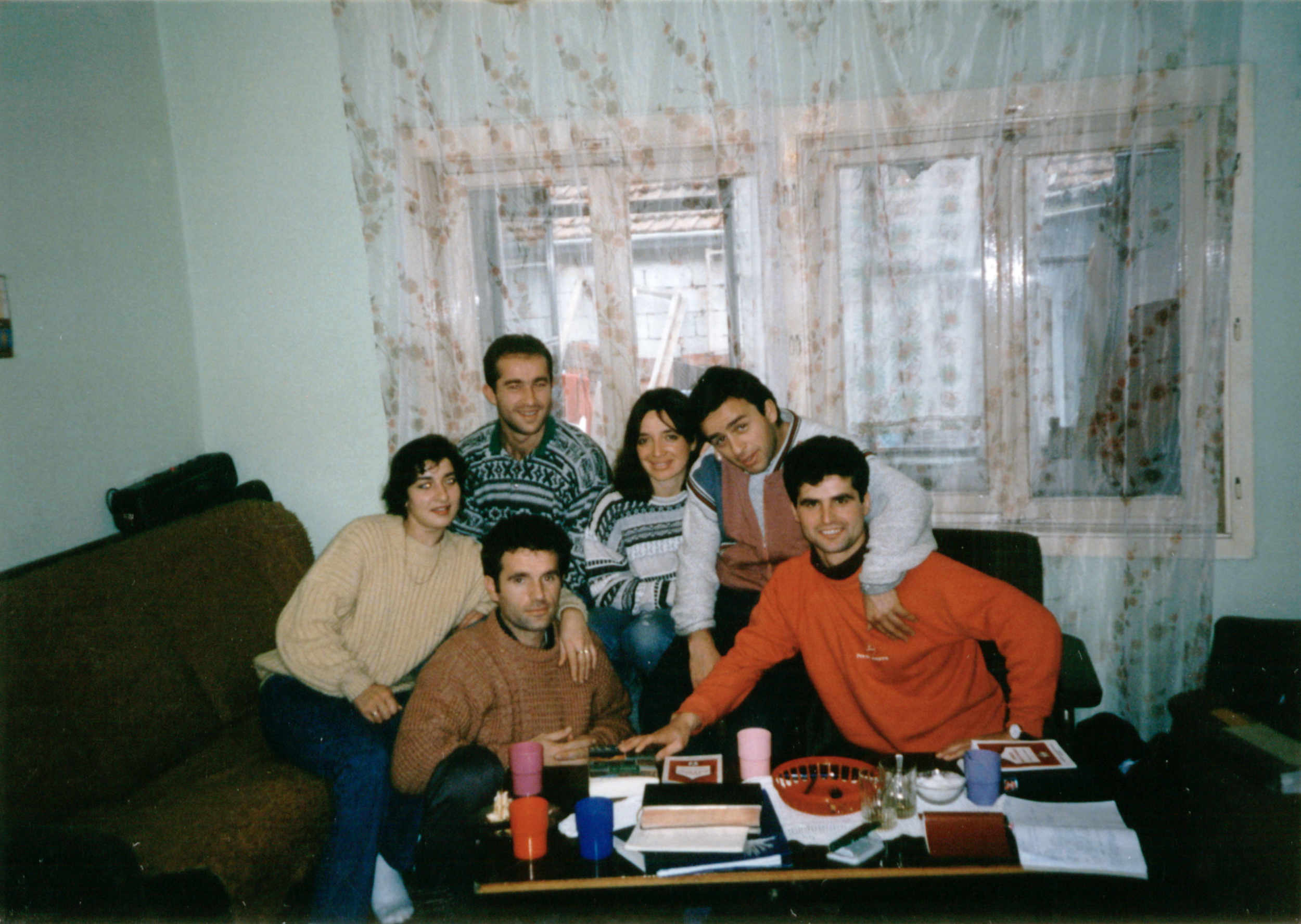 The first members of B.U.M. Church in 1994