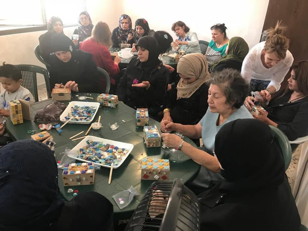Muslim and Christian Participants at An Inner Healing Workshop I Helped To Organize and Lead. The Women Are Making Special Boxes Which Have Powerful Meaning and Significance Regarding the Healing Power of Jesus.