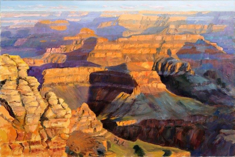 Grand Canyon 24 x36 Oil Sold