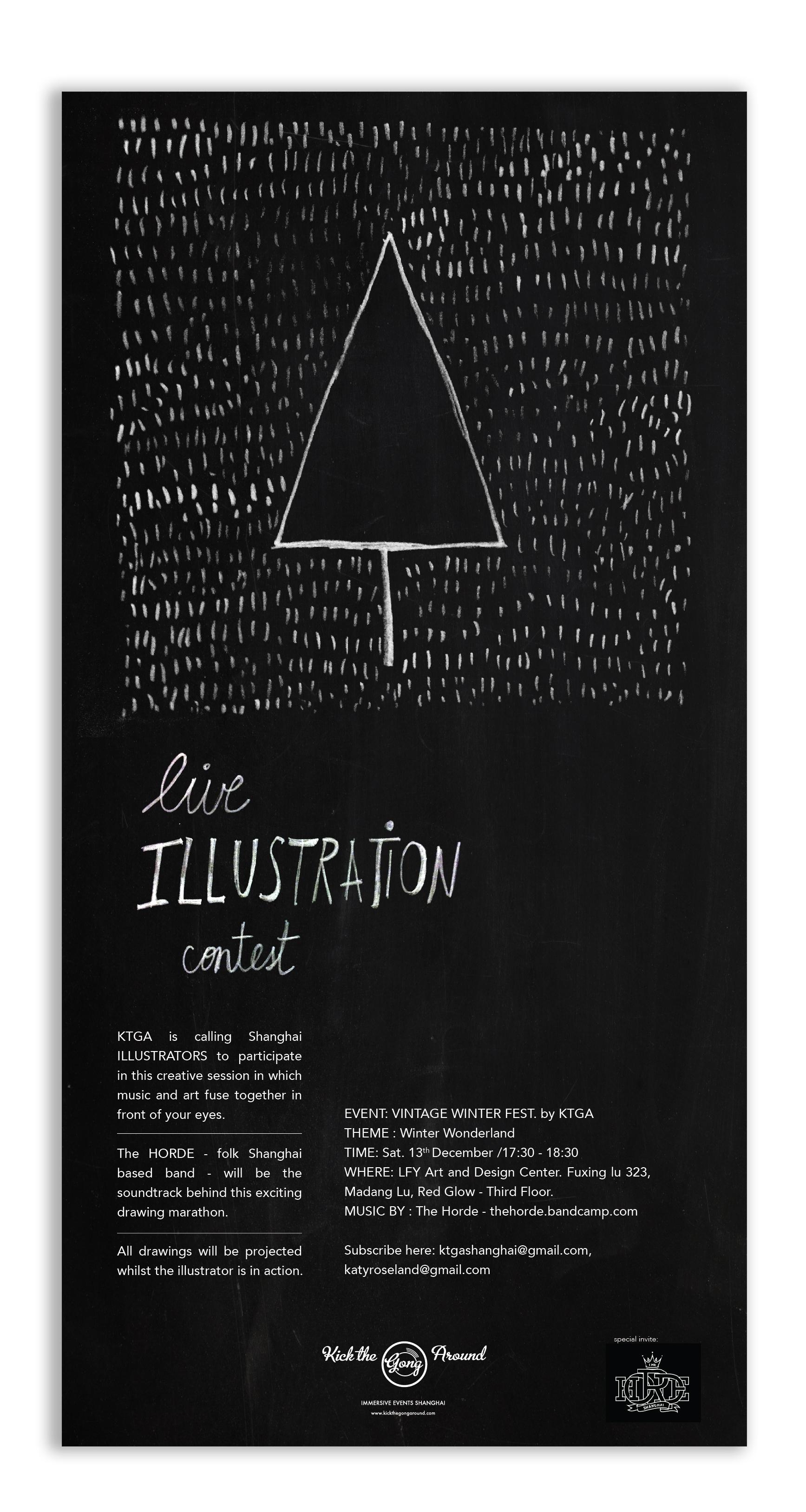 Live Illustration - VWF