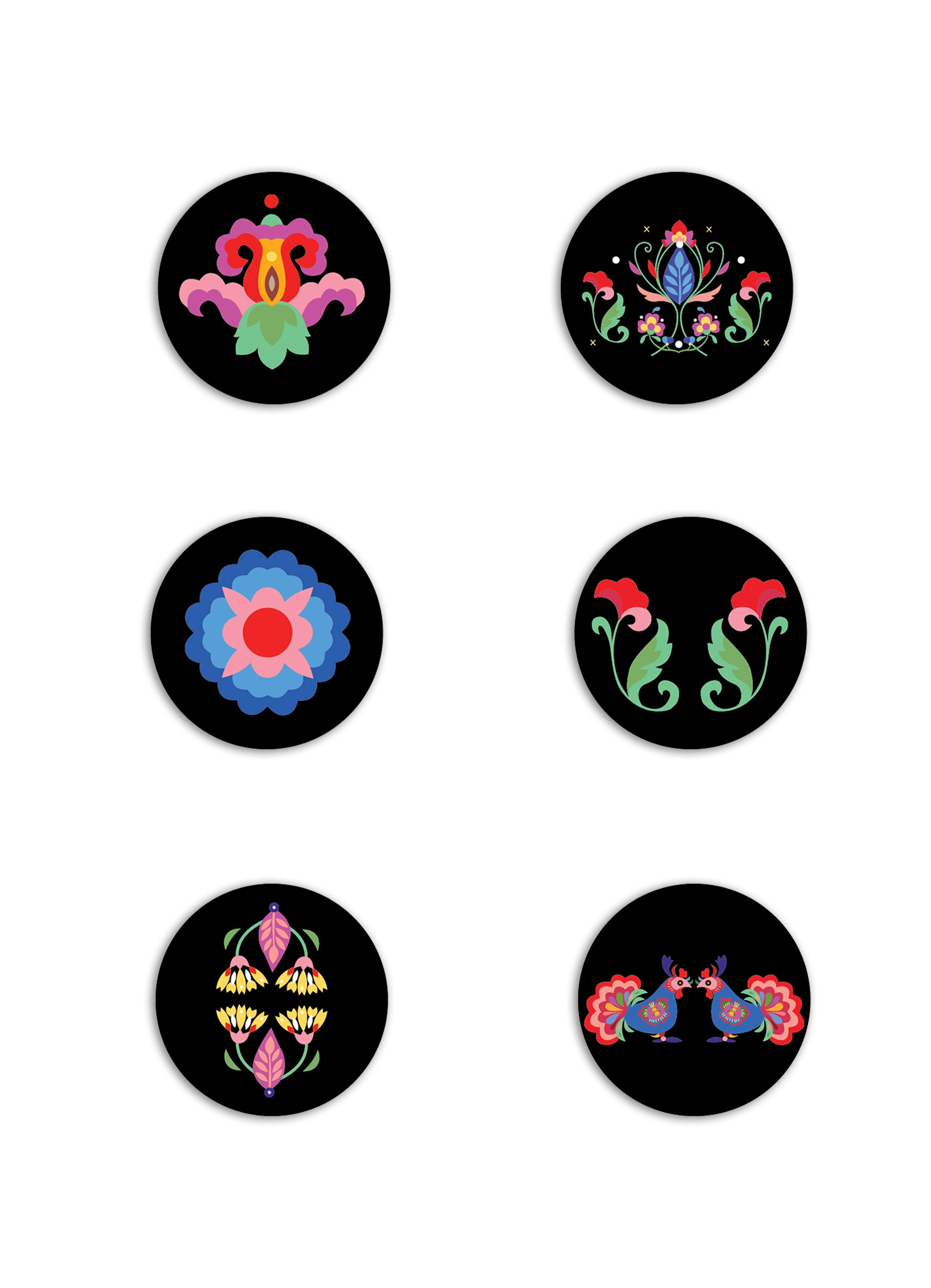 Merchandising Badges