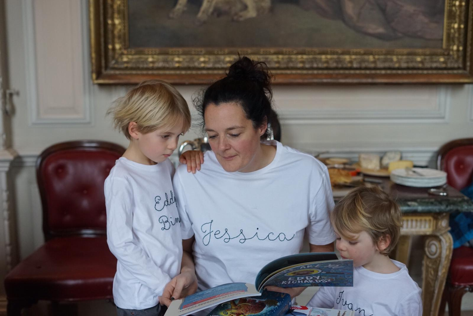 T-SHIRT EMBROIDERY - Make a personalized t-shirt for you or your beloved ones. Learn simple embroidery stitches and customize your own clothes. Book your private group session by emailing us at info@studiocruz.co.uk.