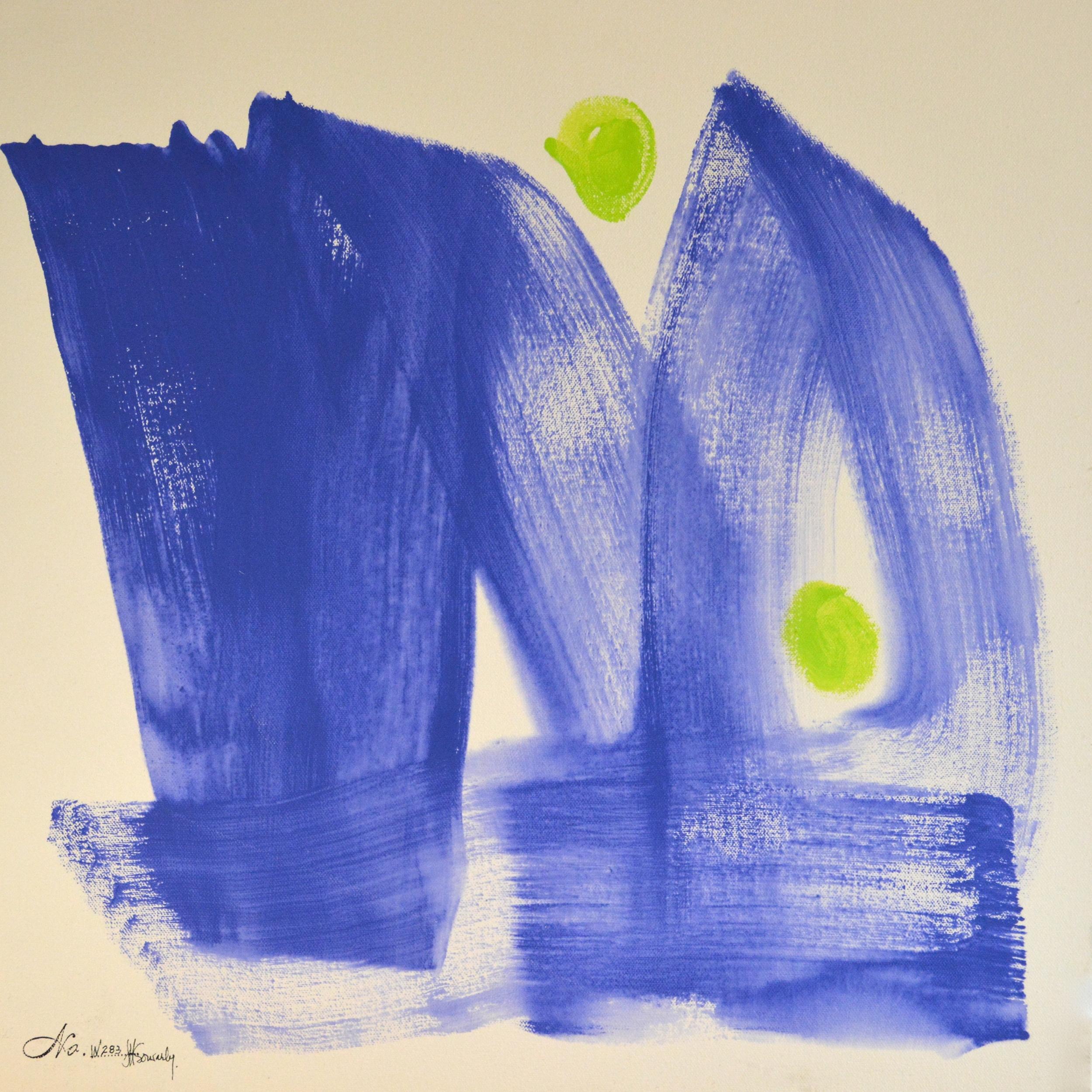 No.W283 Double Blue (12 x 12)