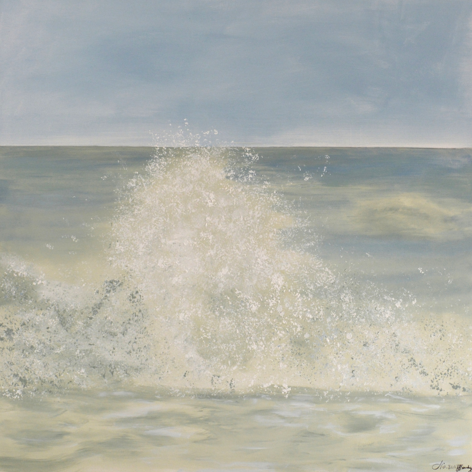 No.B214 Splash (36 x 36) SOLD