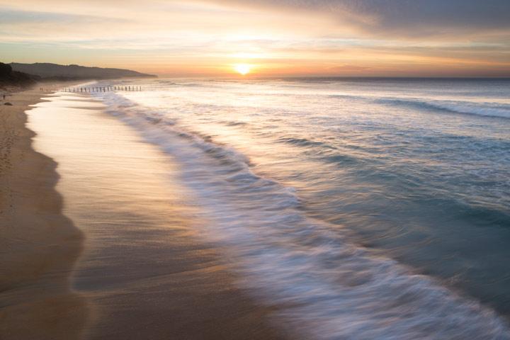 February 28, 2013, 7:11am: A golden coastline ...