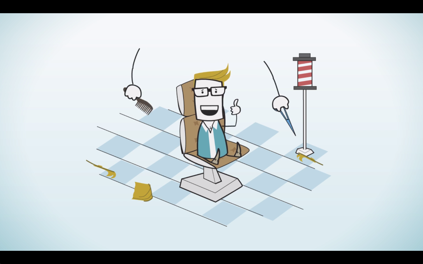 ITV  infographic animation for internal company channel - at Petrol   Characters design, animation and composition.   [Illustrator, After Effects]