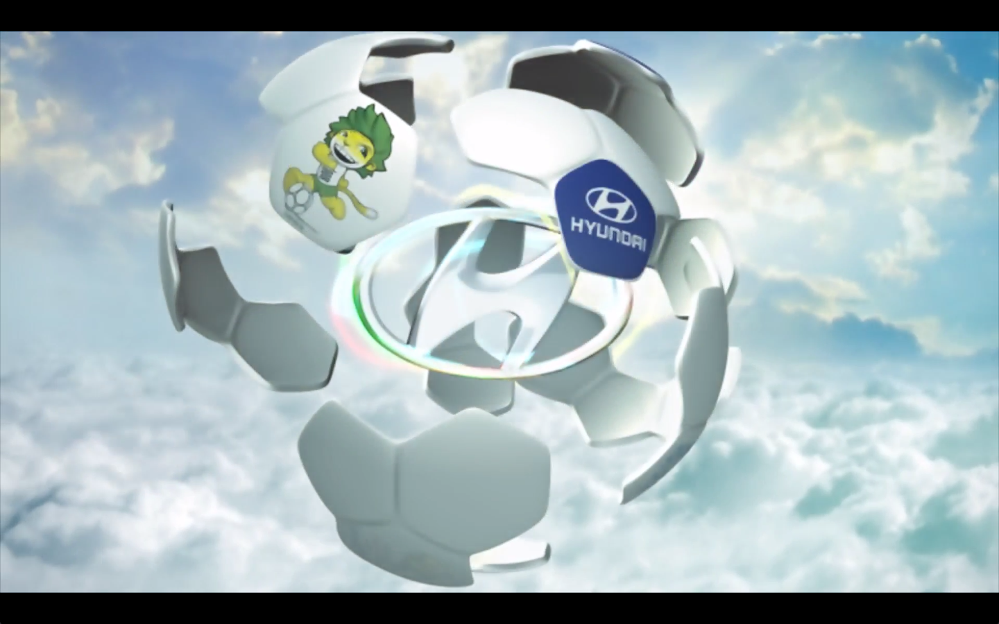 Hyundai  fanzone advert for World Cup South Africa - at Petrol   Animation, lighting and render.   [Maya]