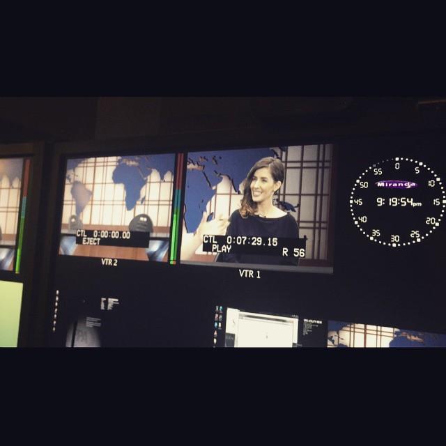TV interview in Washington, D.C. - 2018