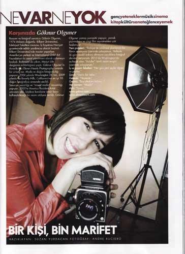 Interview with Elle Magazine -