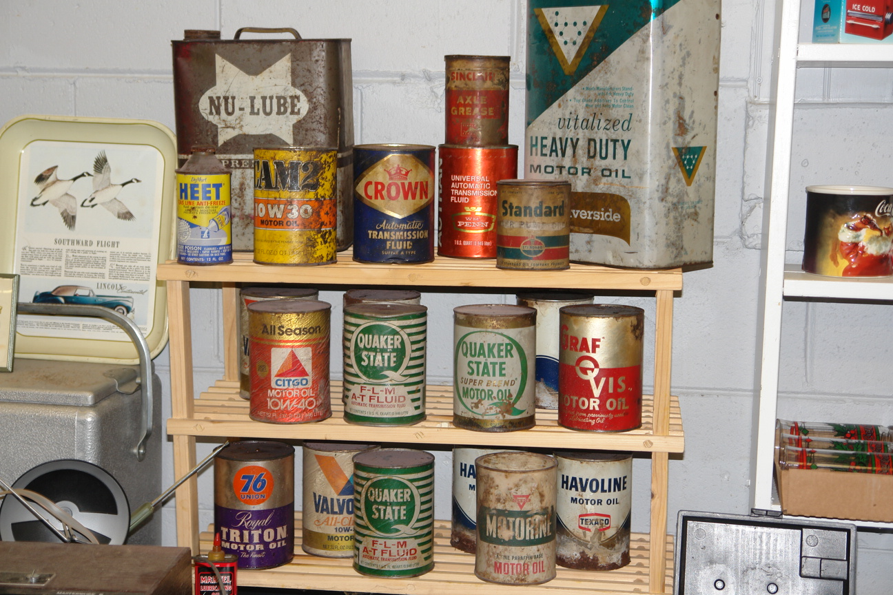 Classic Oil Containers