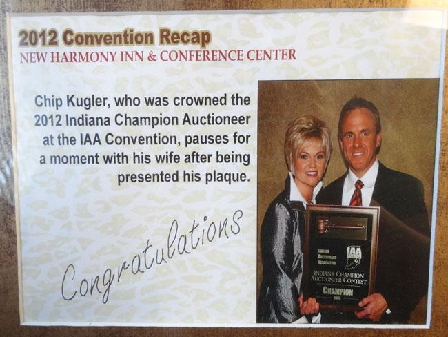Award Winning Auctioneer
