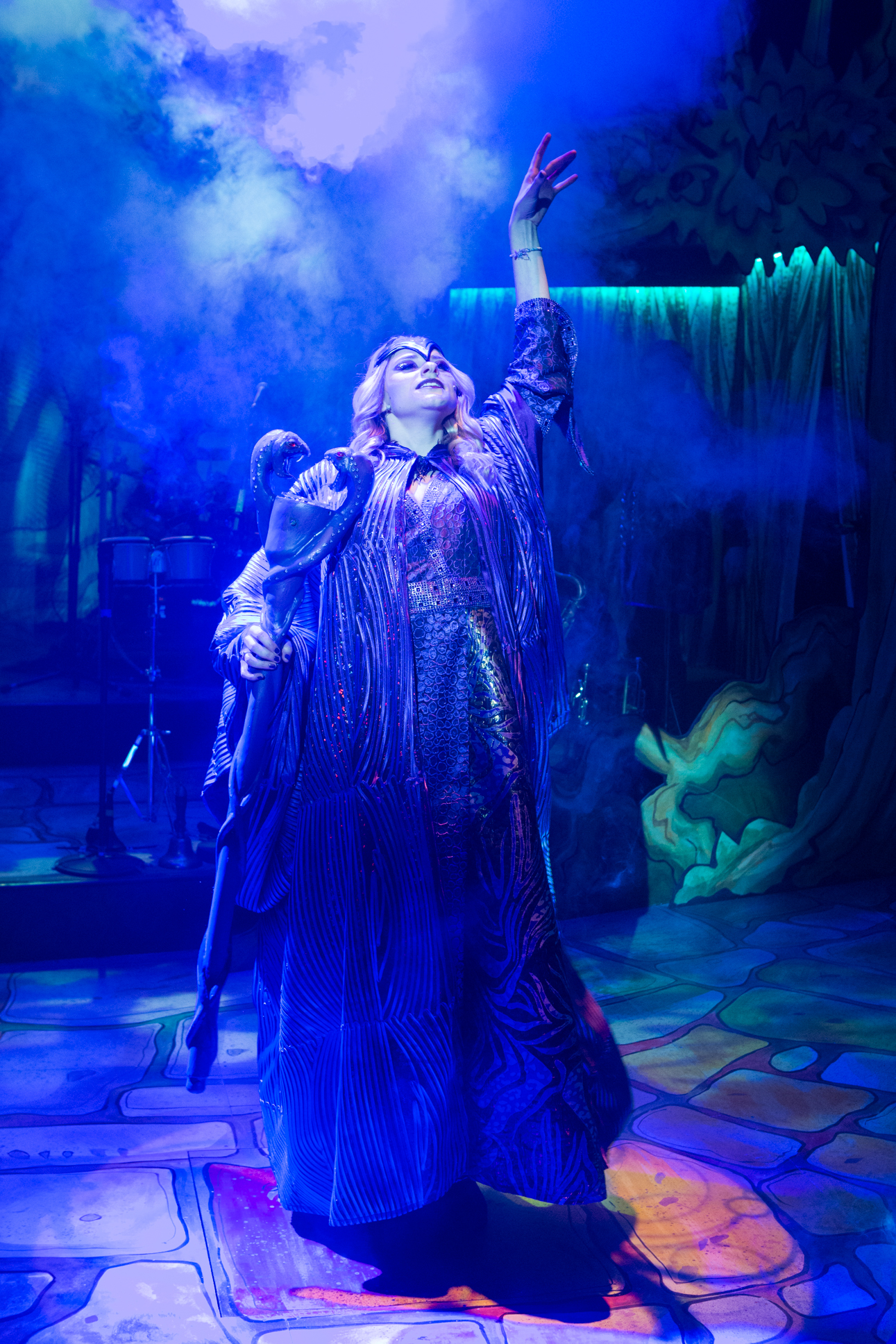 Georgina White as Morgan Le Fay. Photo Mike Kwasniak.jpg