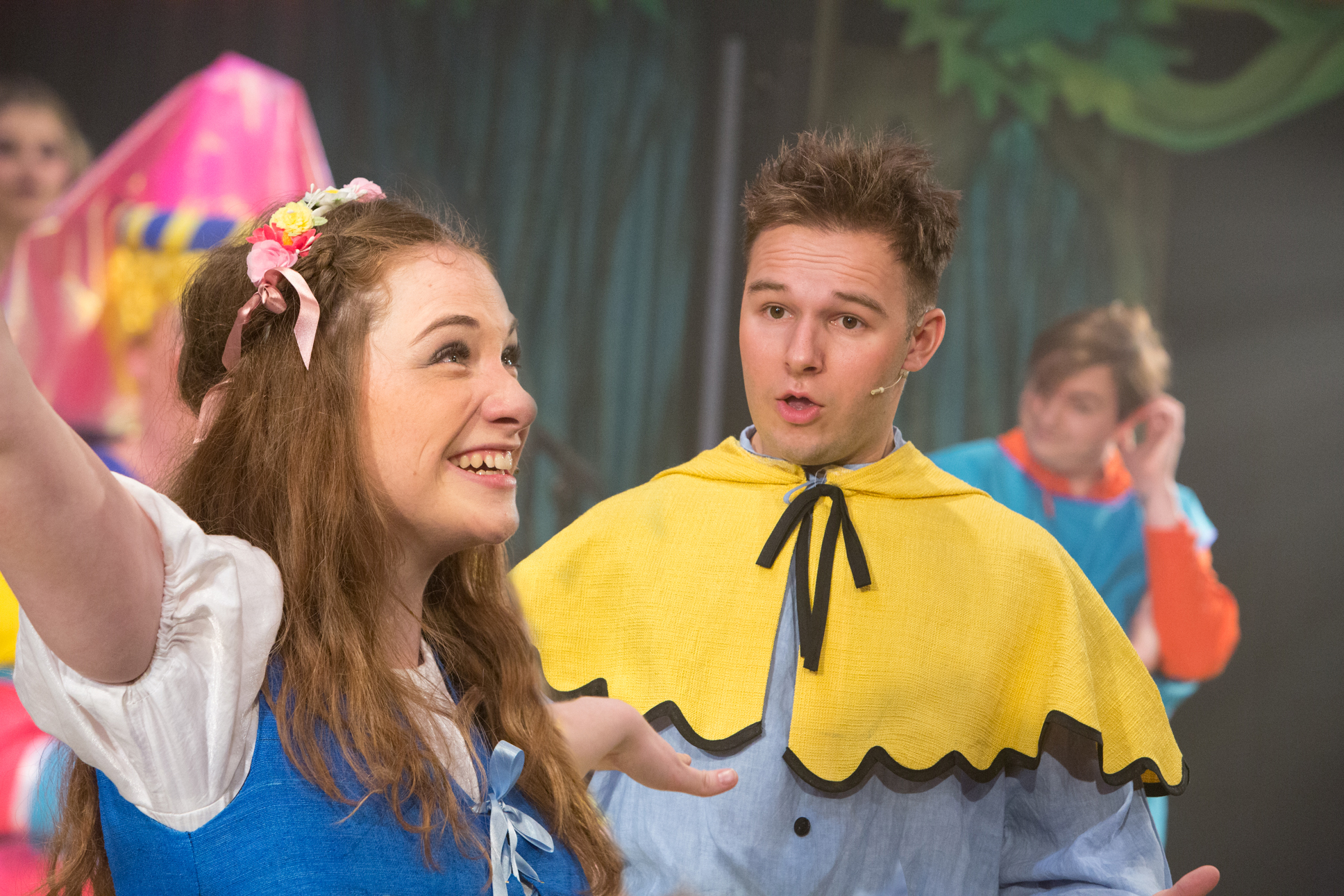 Lucy Wells as Guinevere and Sandy Grigelis as Sprout. Photo Mike Kwasniak.jpg