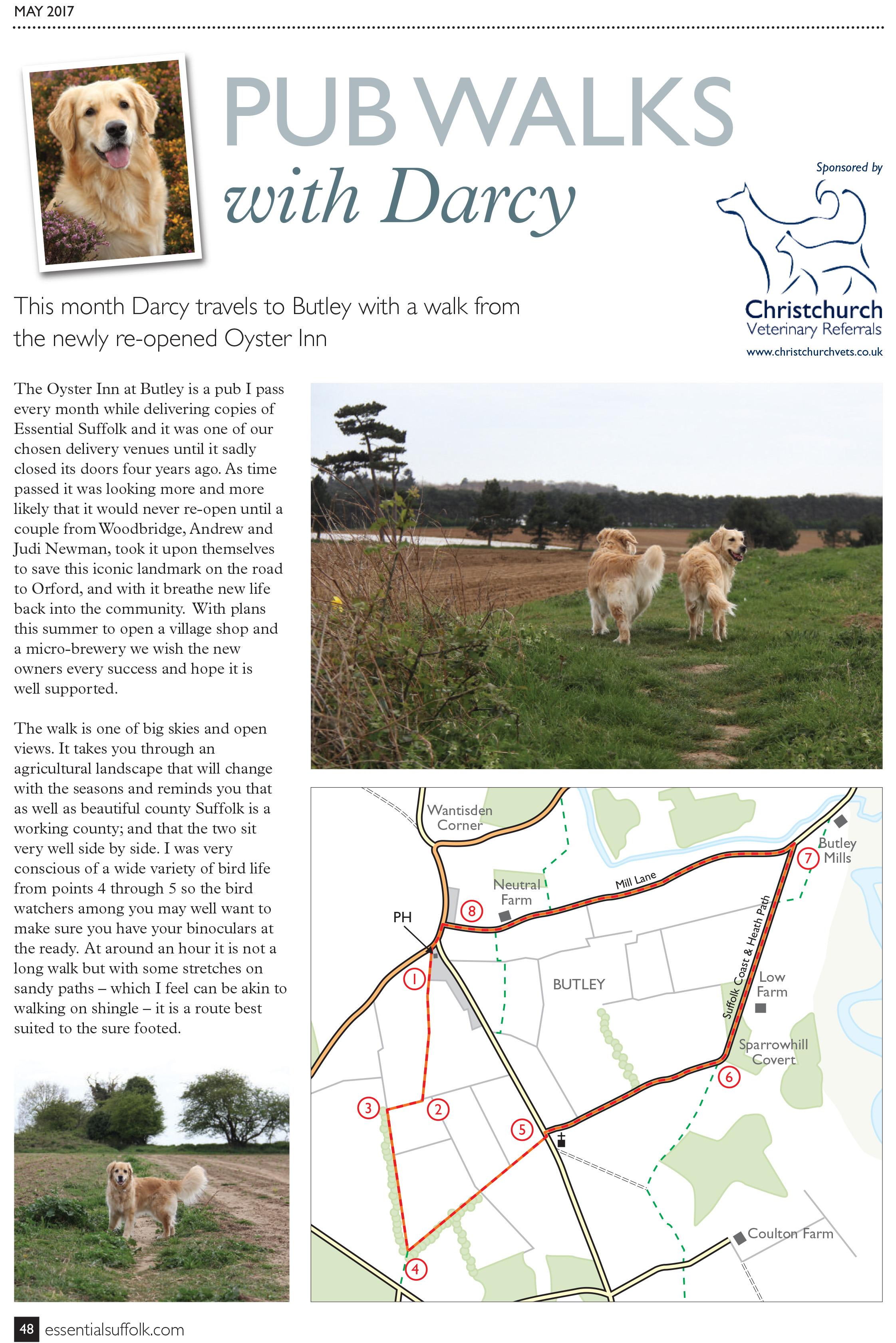 Butley Dog Walk page 1