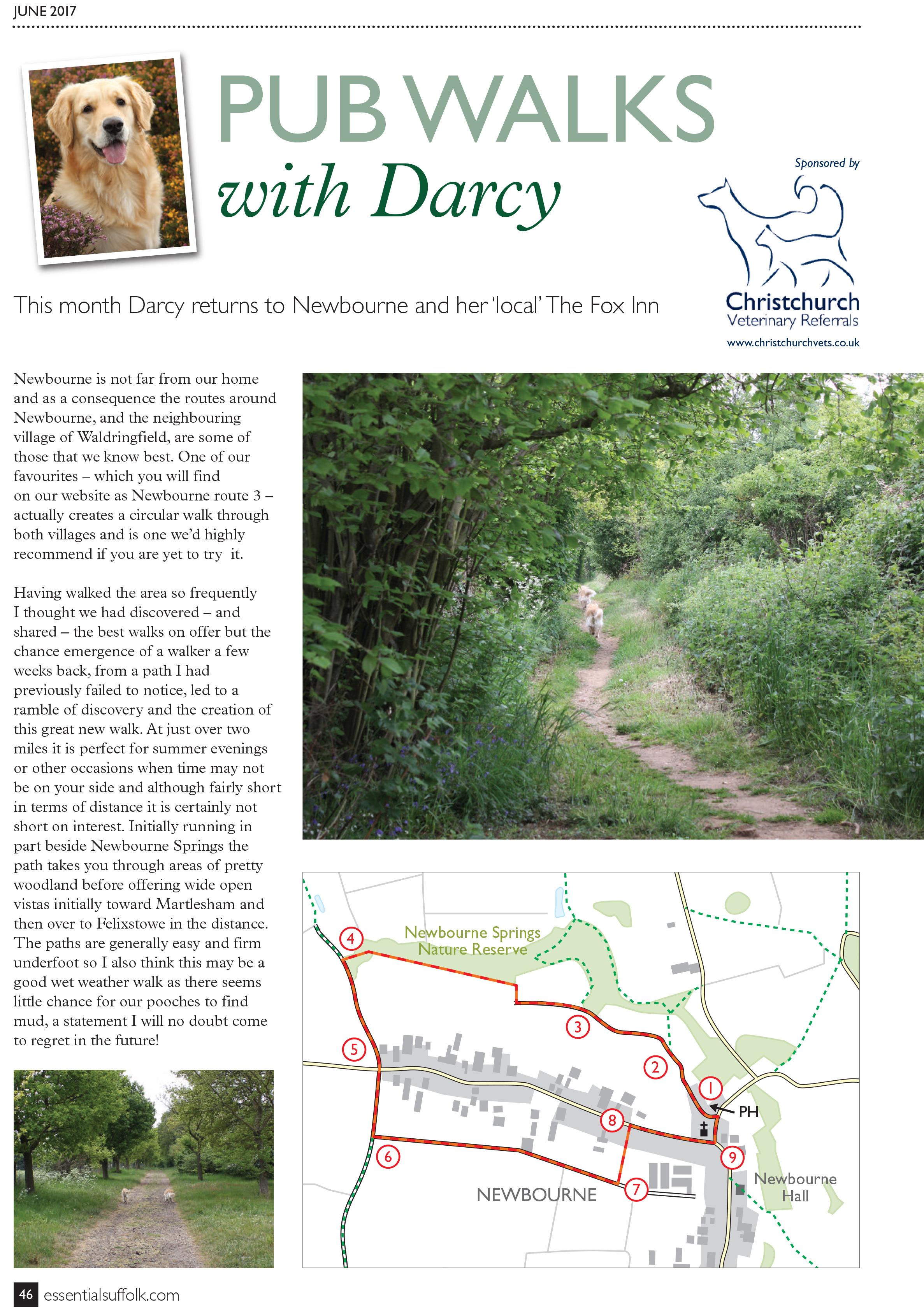 Newbourne Dog Walk route 4 page 1