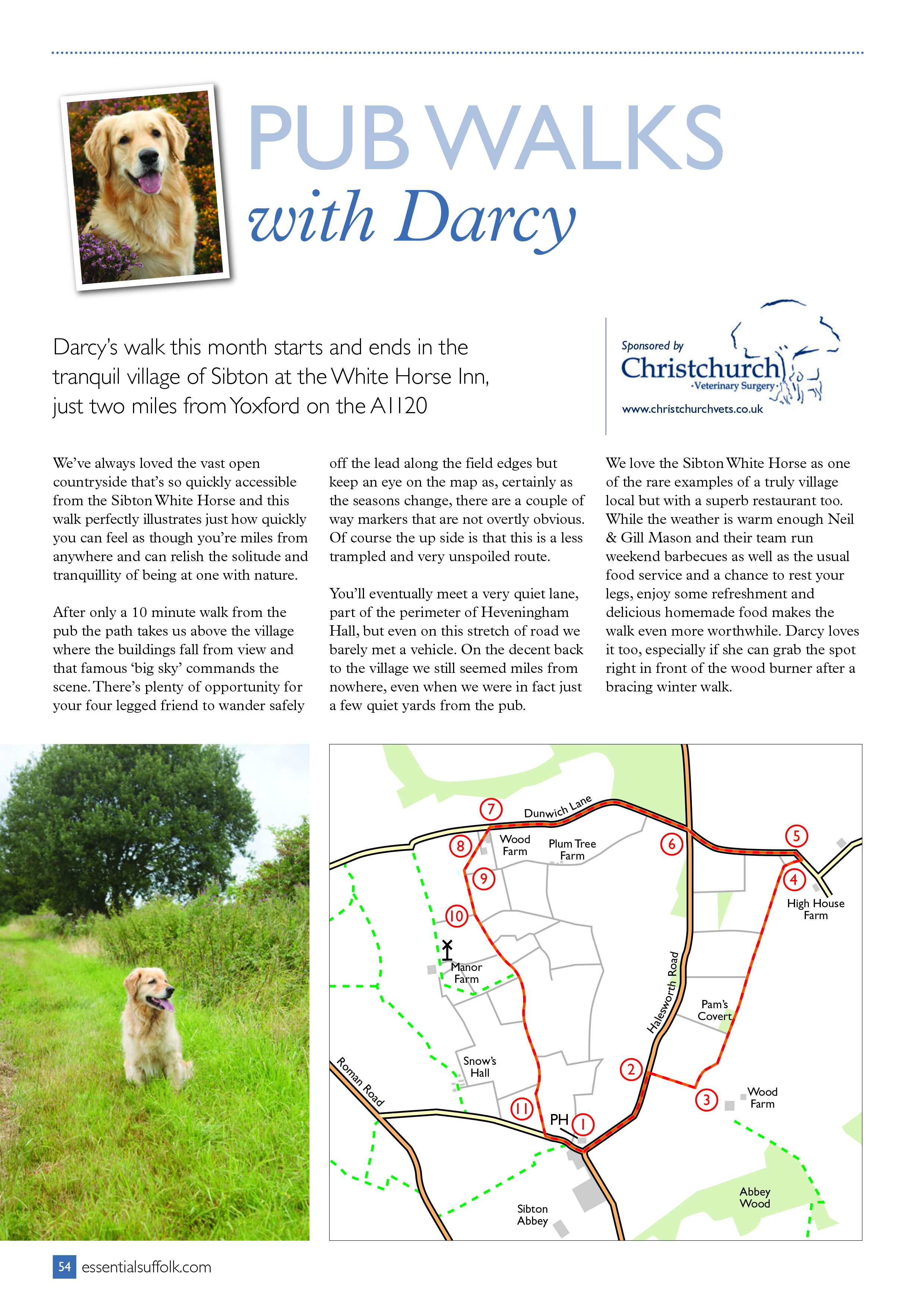Sibton dog walk route 3 page 1