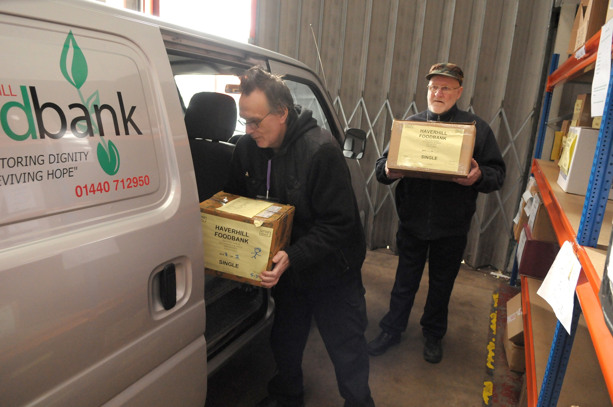 Suffolk - Volunteers helping out at the REACH Haverhill foodbank_smaller.jpg