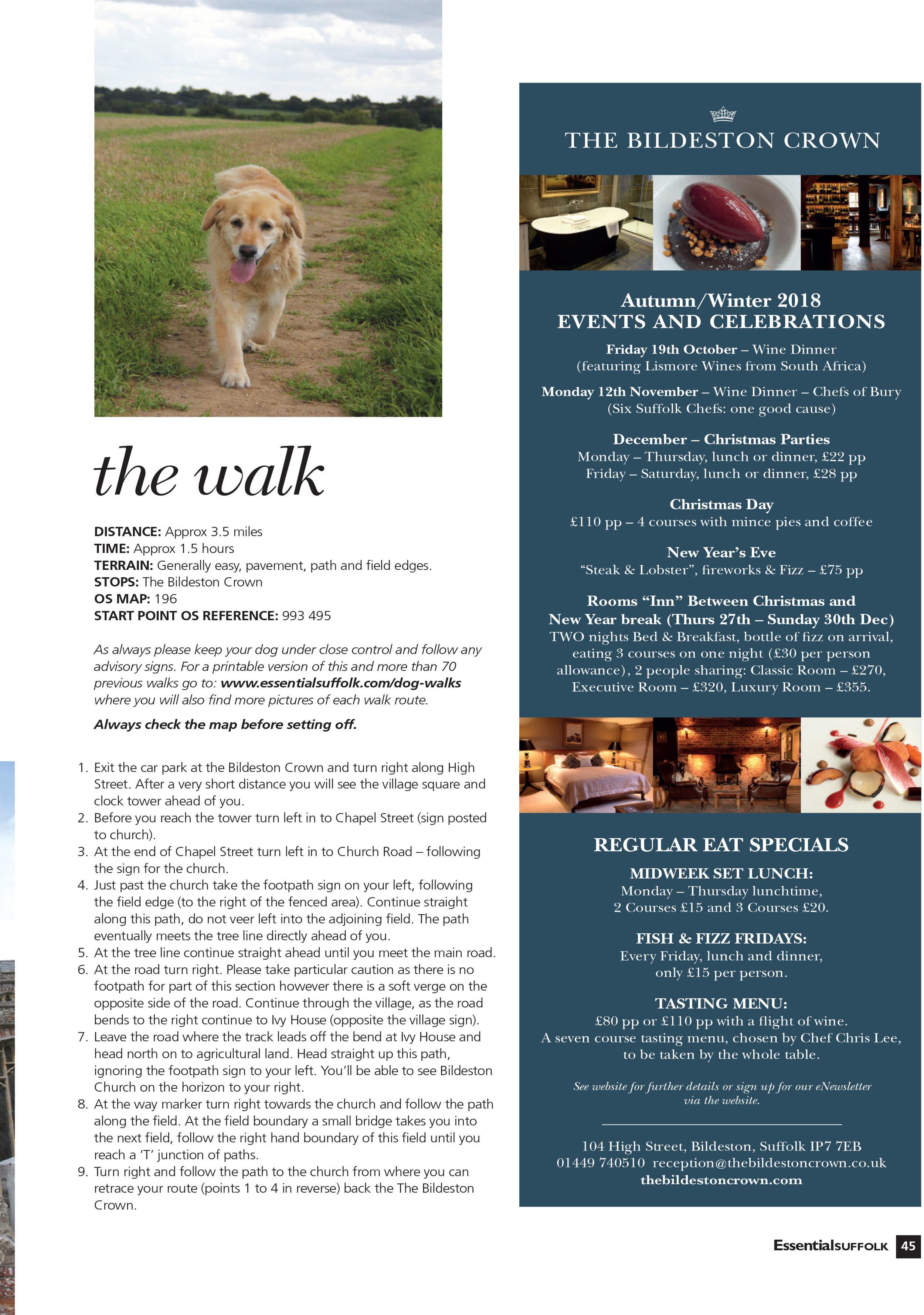 Essential Suffolk Bildeston dog walk route 2 page 2