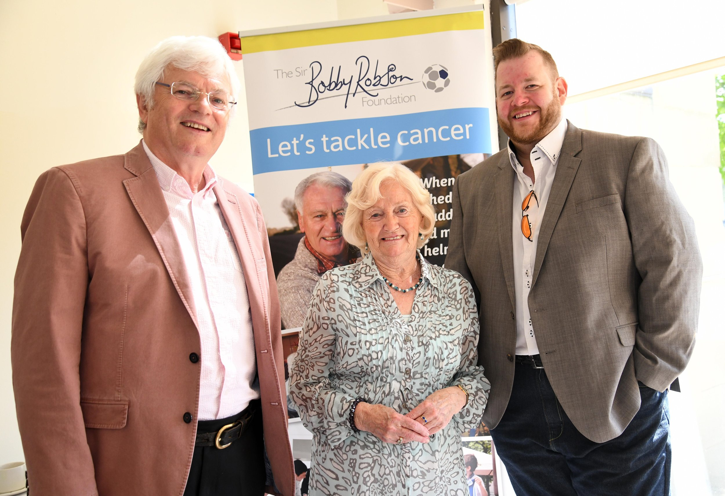 L-R Lady Elsie Robson with Tom Kelly and Gareth Hunter.jpg