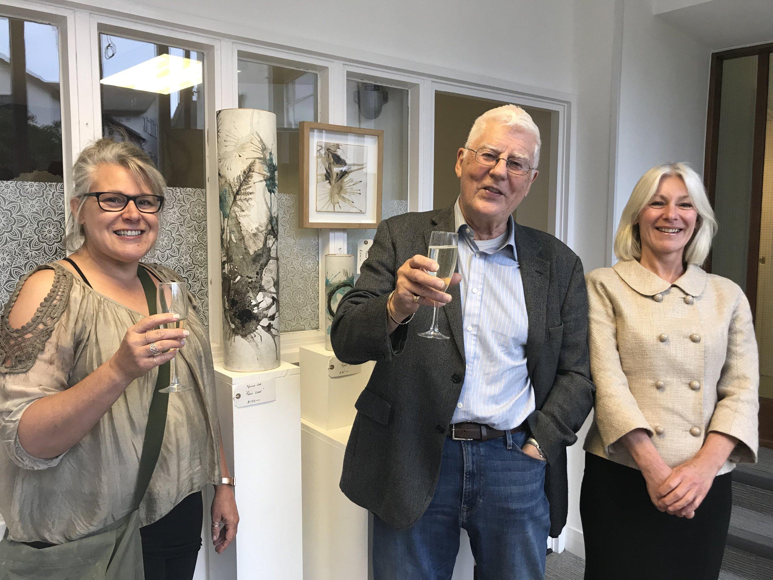 Nicola Coe (Artist), Dr Stuart Stanley Little and Sue Farrall (Prettys).jpg