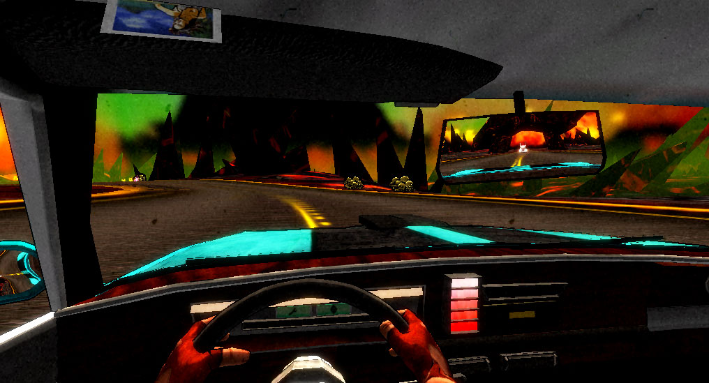 Hell Driver gameplay DADIU 2011