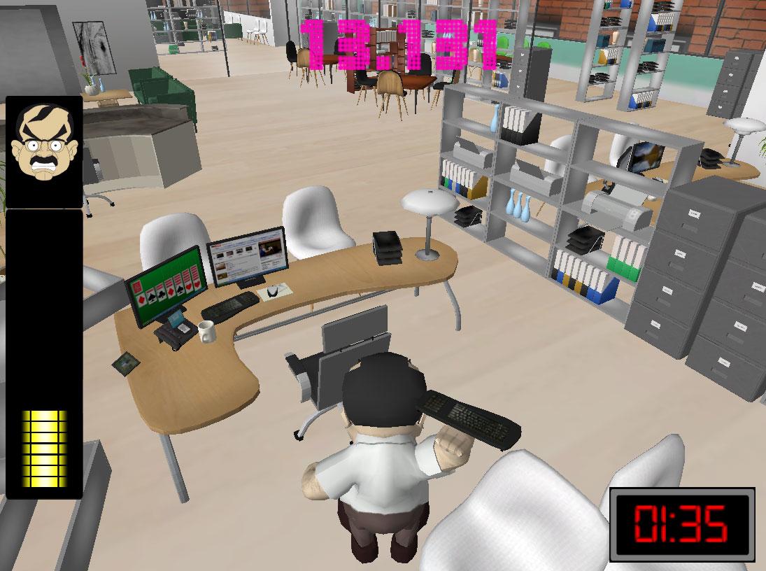 Office Rage Thumb DADIU 2010