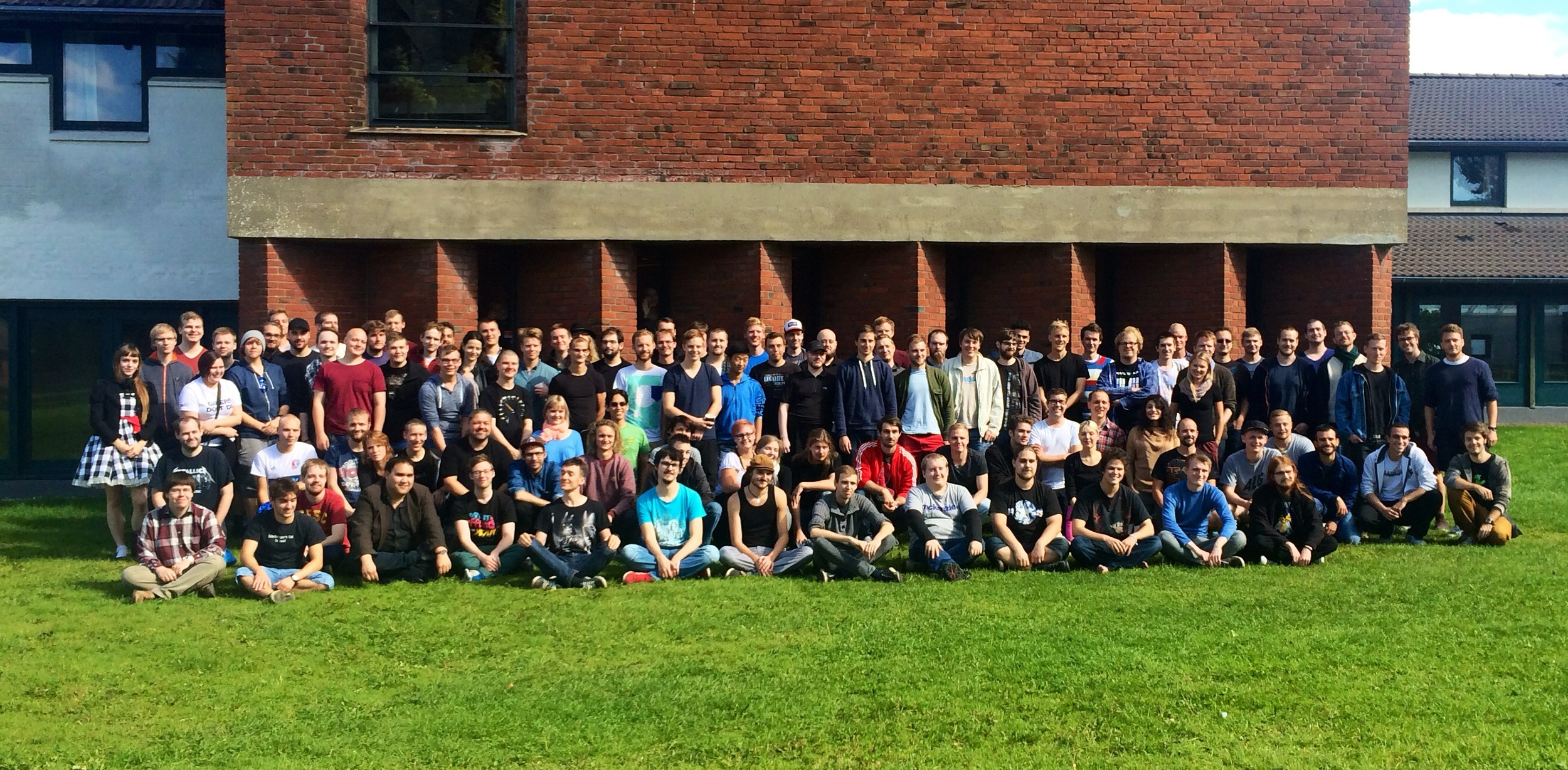 The 115 new DADIU students