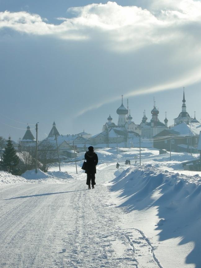 Winter, Iles Solovki, Solovky islands