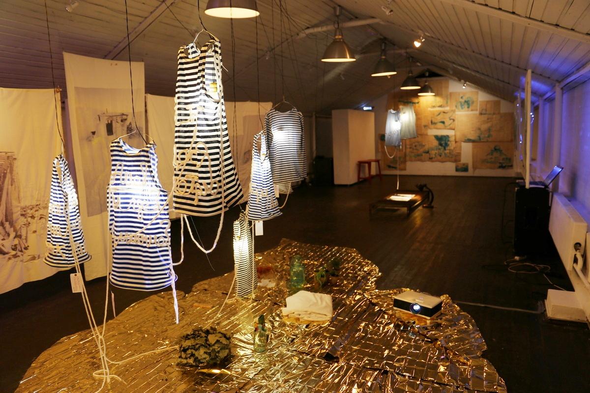 Overview exhibition Marie de La Ville Baugé