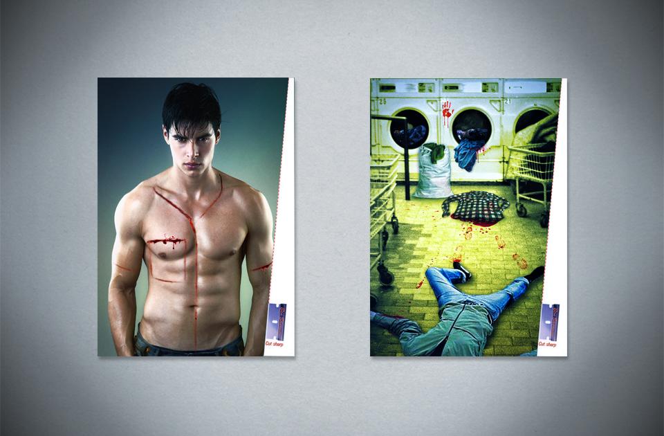 Ben Sherman ,  'Cut sharp'  – print ads
