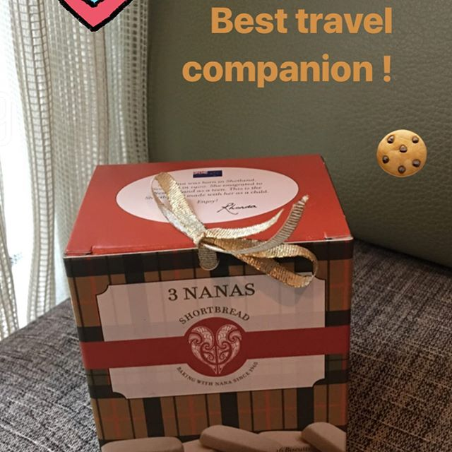 I always take a box when. I travel- share with those who check you in 🏨 ✈️- there will be an upgrade in your future = The Shortbread Effect  www.3nanas.com #foodporn #yum #instafood #yummy  #amazing #instagood #sweet #dinner #lunch #breakfast #fresh #cookies  #tasty#delish #delicious #foodpic #foodpics #eat #hungry #foodgasm  #dessert #desserts #chocolate #shortbread #biscuits #dessertporn  #sweettooth #baking