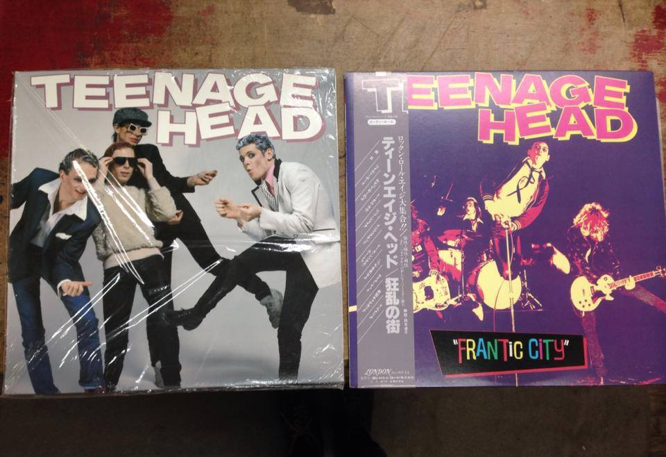 Sealed Teenage Head first press and Japanese Frantic City