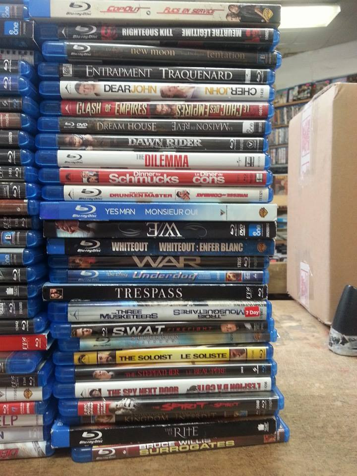 Marked down a ton of Blu-rays to under $5 each.
