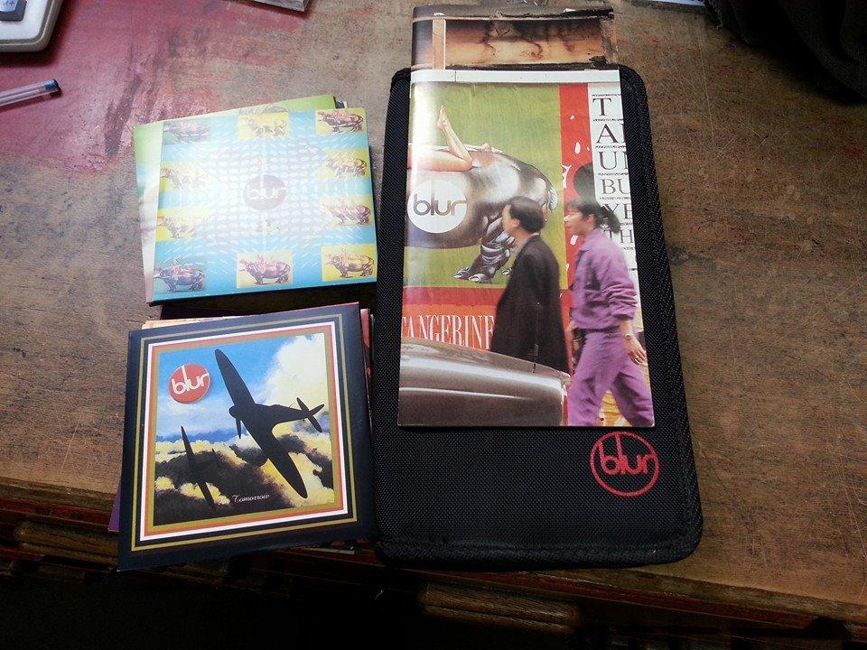 Blur CD singles