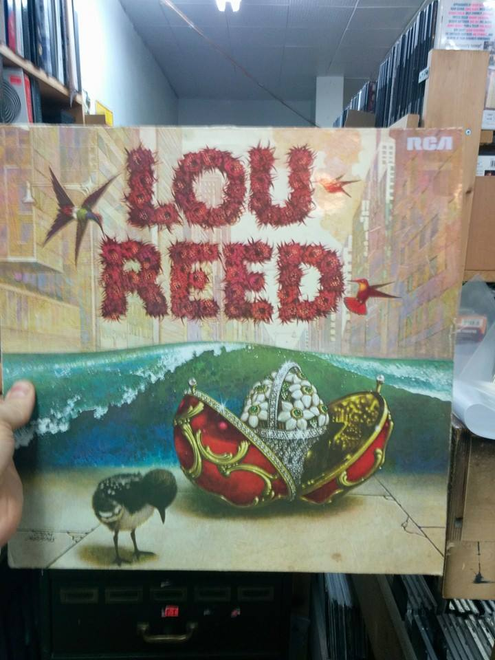 German import Lou Reed