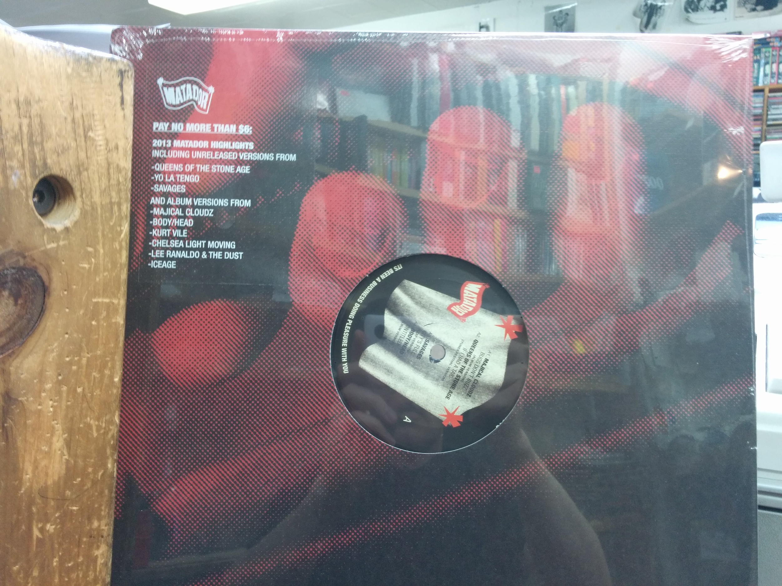 Matador Records Sampler $7.99