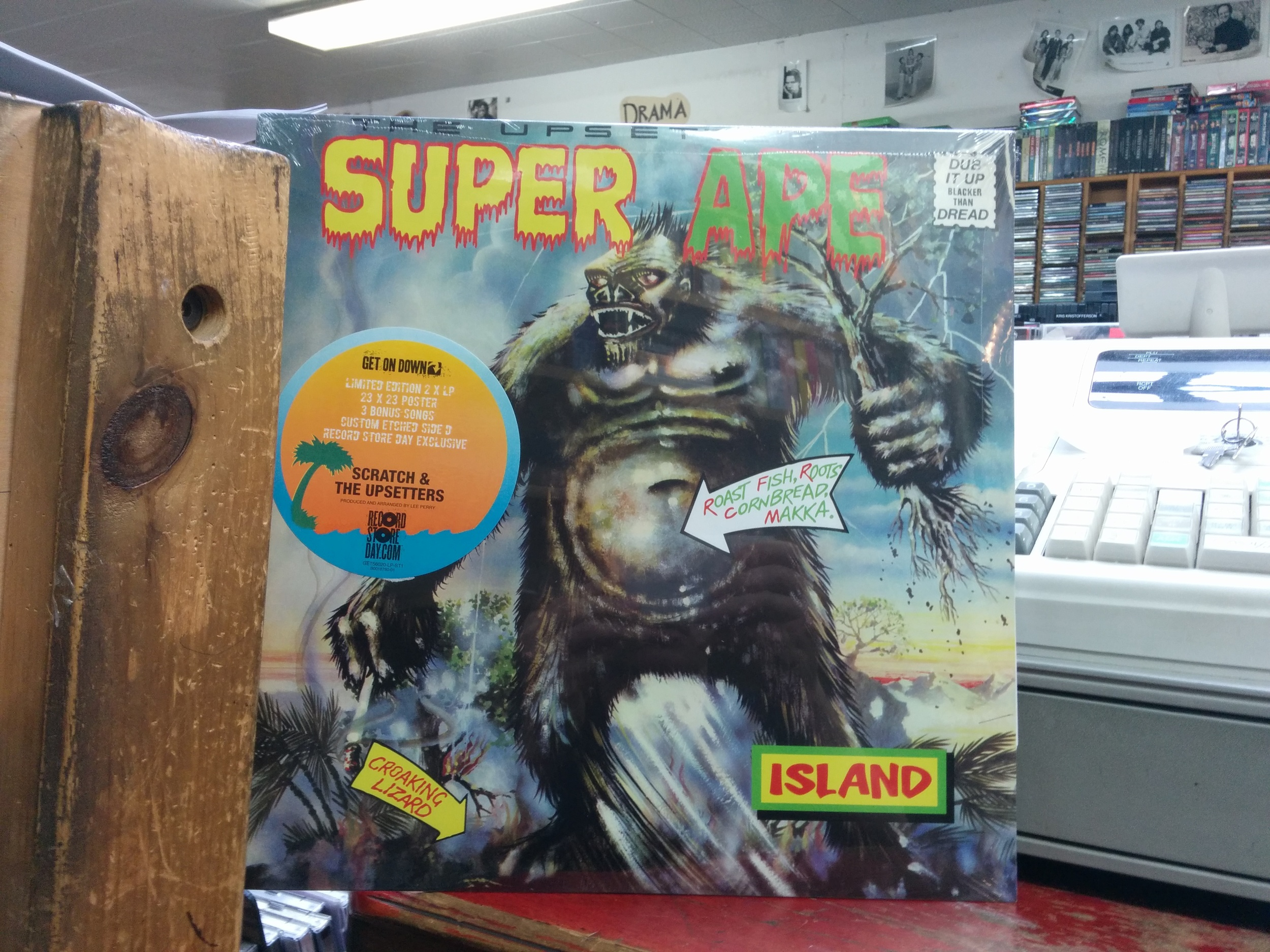 """Lee """"Scratch"""" Perry & The Upsetters Super Ape - $33.99"""