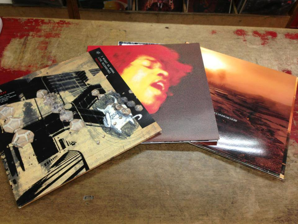 Nice vinyl titles