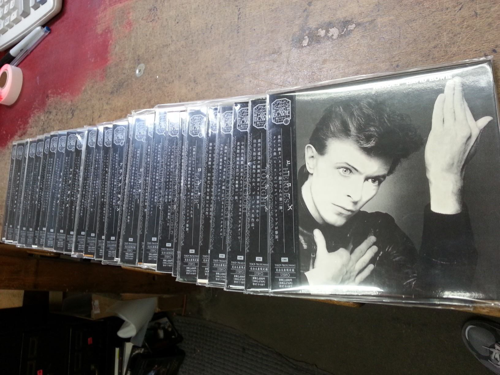 Japanese Bowie CDs