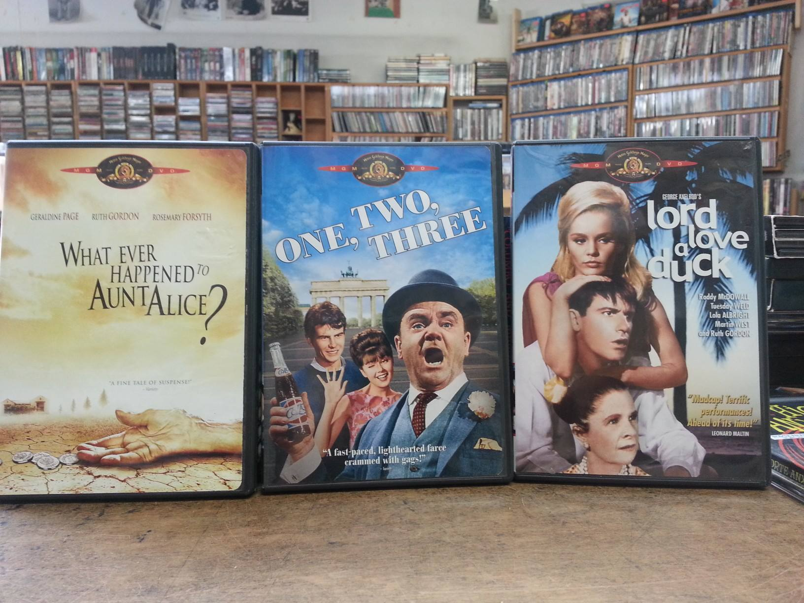 Out of Print DVDs