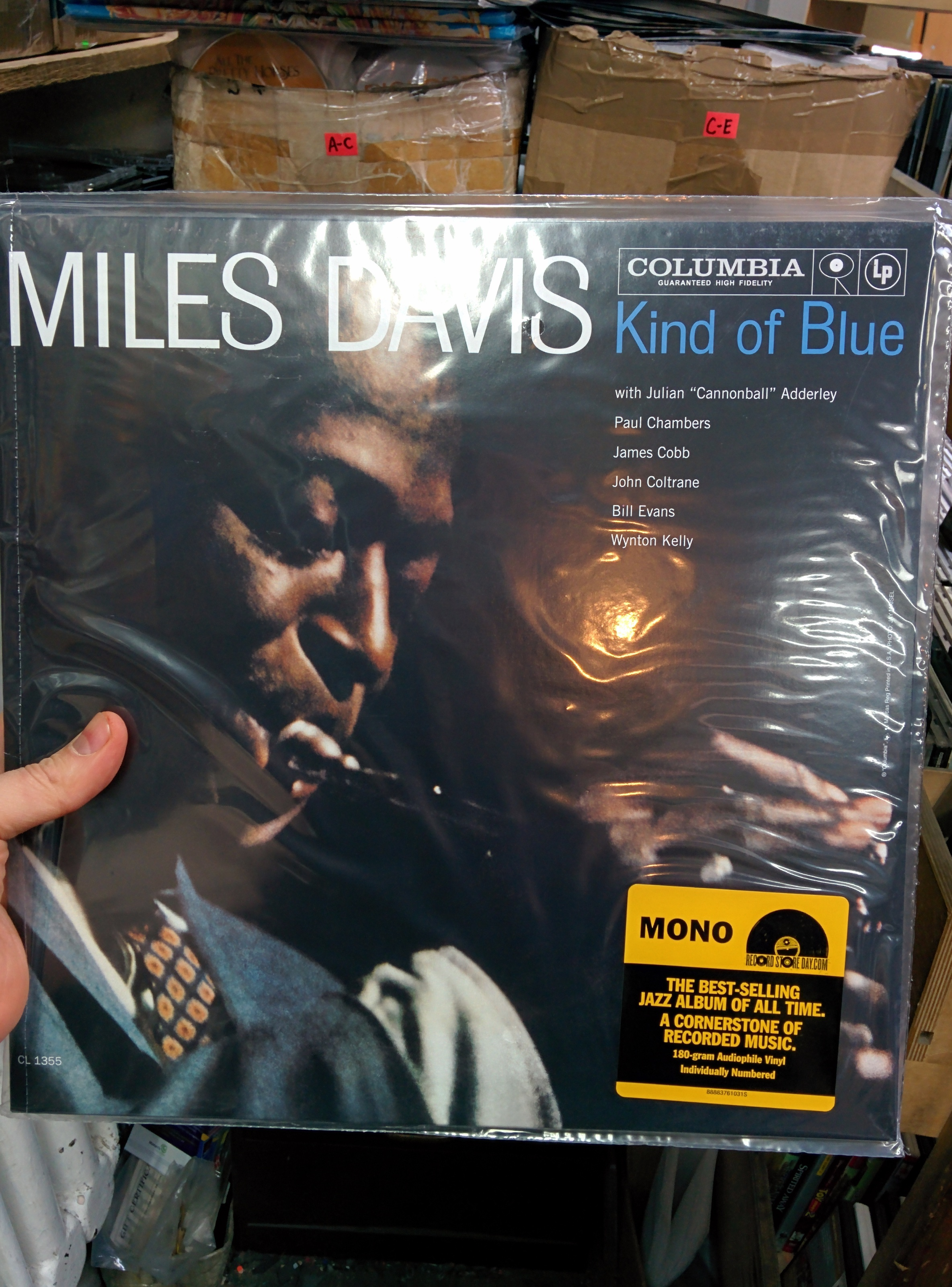 Mono Miles Davis Kinda Blue - $19.99