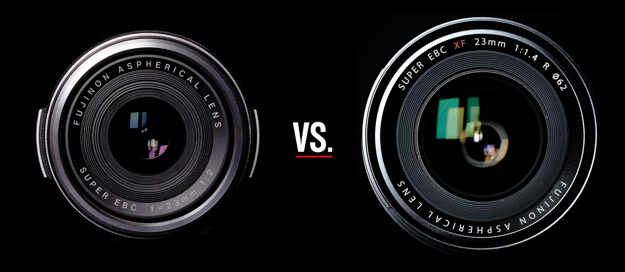 Fuji's X100S vs. the FUJINON XF 23mm ƒ/1.4