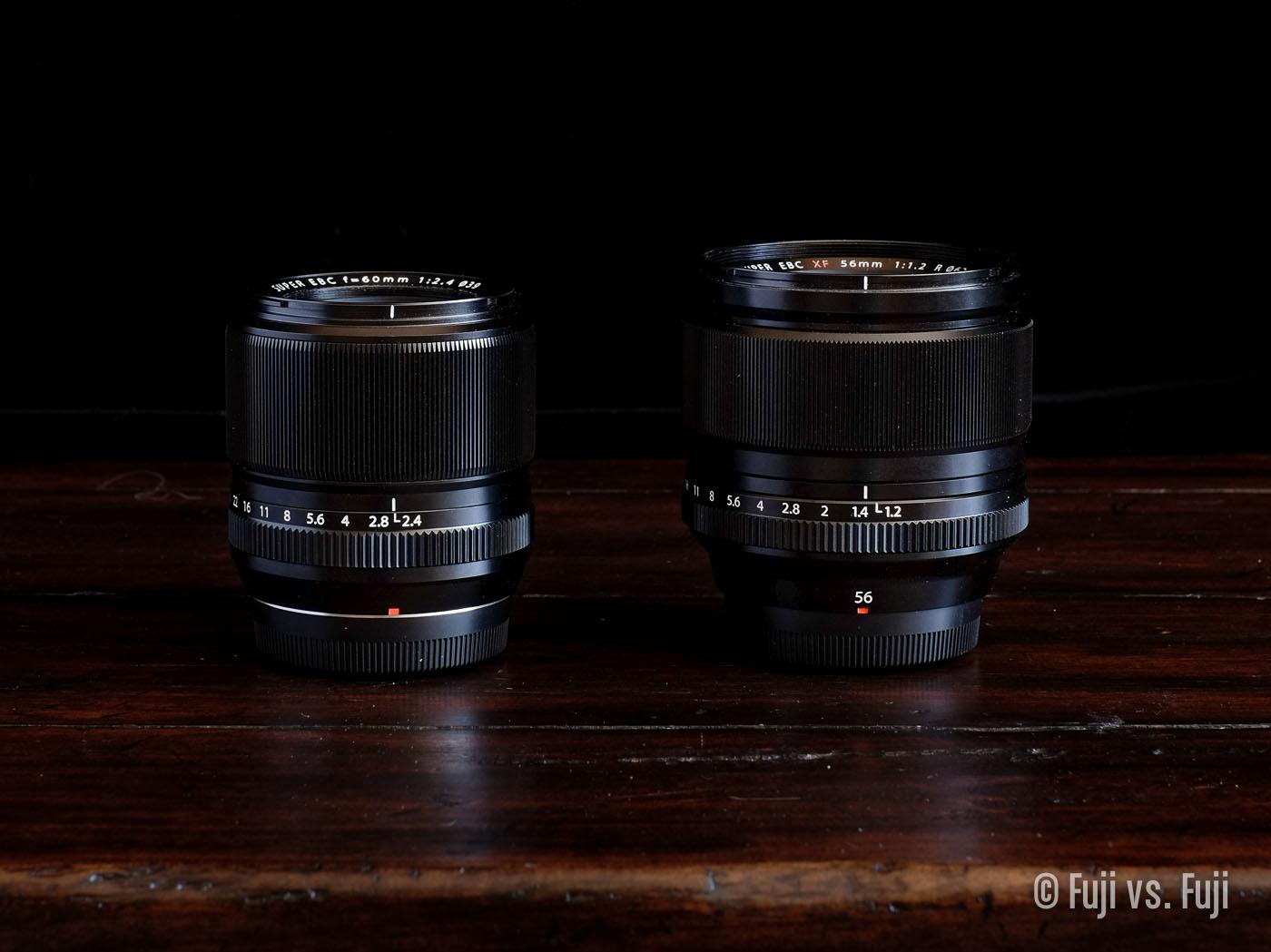 Fuji Fujifilm 60mm f2.4 Macro 56mm f1.2.jpg