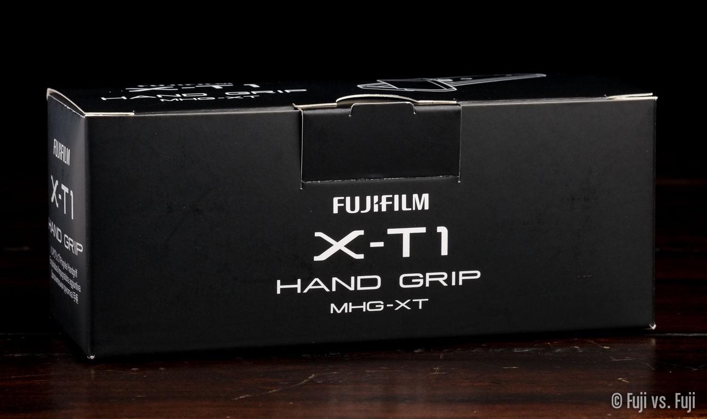 "Fuji's backwards-named ""Hand Grip MHG-XT"""