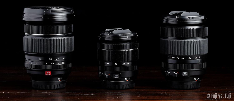 Fuji Fujifilm 16-55mm f/2.8 18-55mm f/2.8-4 18-135mm f/3.5-5.6.jpg