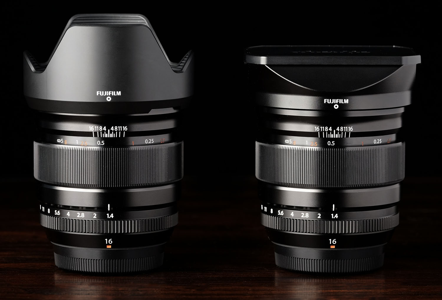 No, I don't have two of these lenses. Just the power of Photoshop