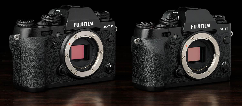 X-T2 vs  X-T1 — Fuji vs  Fuji